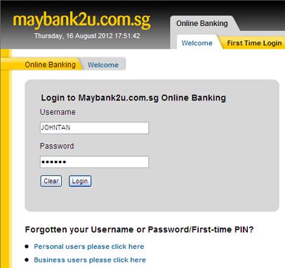 Maybank2u Com Register For Internet Banking